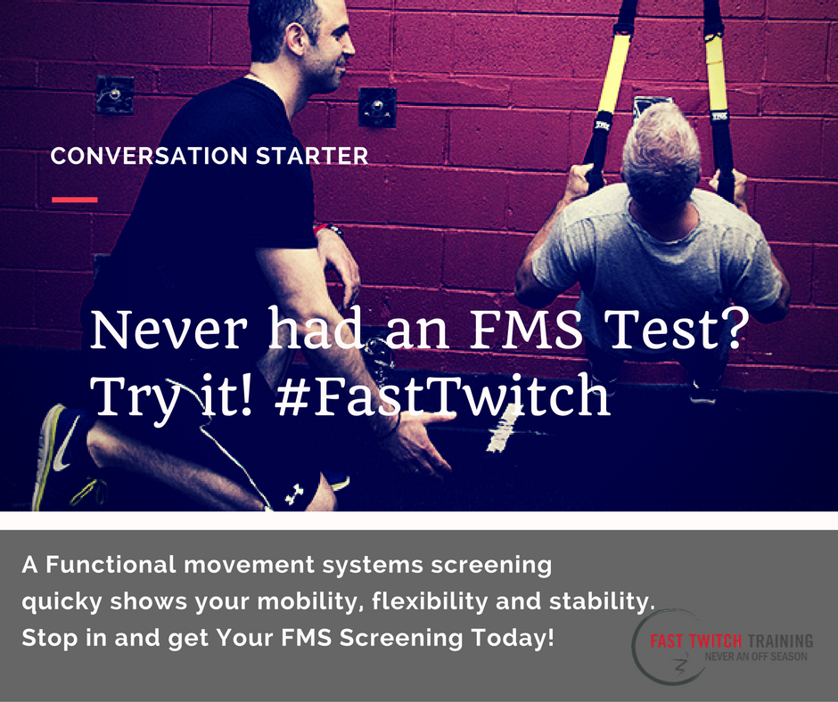 Functional Movement Systems Fast Twitch Training