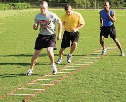 Speed and agility work